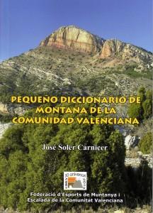 Peque+¦o diccionario de monta+¦a de la Comunidad Valenciana.