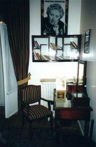 ESTAMBUL.- Habitaci+¦n de Agatha Christie en hotel Pera Palas.-14-11-2000 E.Gonzalo