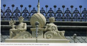 Del libro- Detalle decorativo Edificio del Reloj del puerto de Valencia.