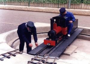 15-05-1994 Ferrocarril de la Granja. Esteban Gonzalo
