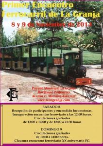 Primer Encuentro Ferrocarril de La Granja