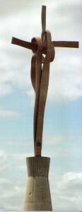 La Creu de la avenida de Ausiàs March